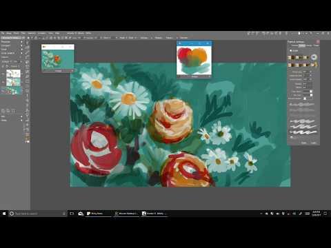 tutorial on Color Relationships:  Split Complement