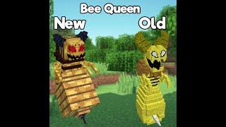 Minecraft 1.15.2 Плагин Bee Queen v 2.0 (Королева Пчёл)