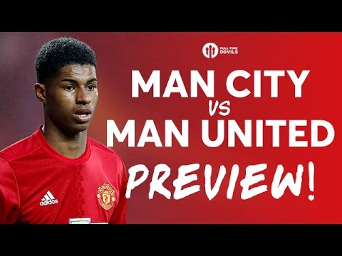 Manchester City vs Manchester United | LIVE DERBY PREVIEW