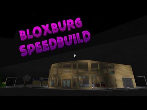 ROBLOX | BloxBurg: Car Dealership SpeedBuild