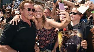 When Arnold Schwarzenegger Goes Out in Public