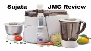 Sujata Powermatic Plus 900 WATT Juicer Mixer Grinder Unboxing Review Best JMG In INDIA