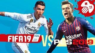 видео: FIFA 19 против PES 2019