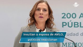 Ante el rechazo generalizado por los insultos contra Beatriz Gutiérrez Müller, el expresidente Felipe Calderón pidió que se aplique el mismo criterio para otras mujeres, entre ellas Margarita Zavala