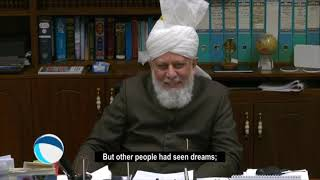Huzoor Had Any Dream About His Khilafat