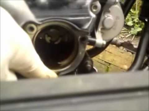 How To Change Brake Fluid >> Yamaha XVS 1100 Oil & Filter Change - YouTube