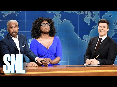 Weekend Update: Oprah Winfrey and Stedman Graham - SNL