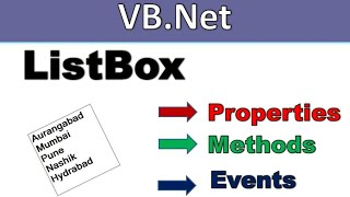 VB Net Form Properties, Methods and Events - Ritesh Magre