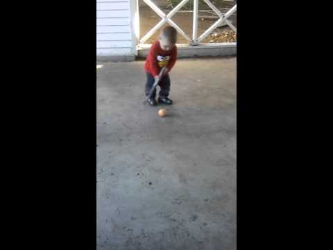 17 month old future NHL star