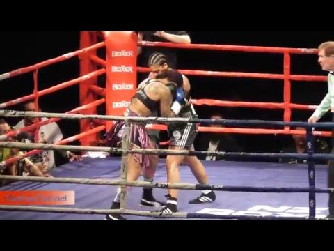 Maricela Cornejo vs Kali KO Reis WBC WORLD TITLE MIDDLEWEIGHT