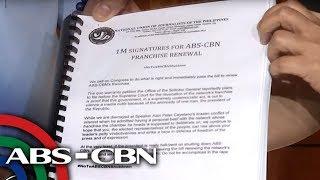 200-K pirma para sa ABS-CBN franchise renewal ibinigay sa mga kongresista | TV Patrol