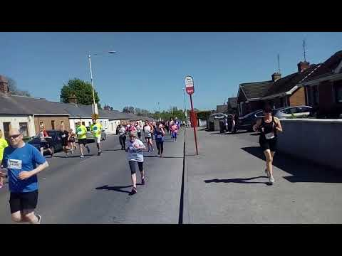 Drogheda 10k 2018 near the 1km mark
