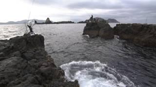 #095 見える巨魚を追いつめろ!高知県鵜来島・究極の際釣り