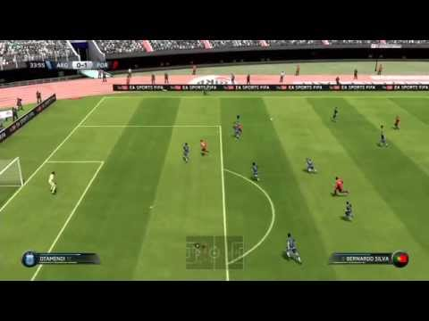 FIFA 16 PS3 GAMEPLAY | ARGENTINA vs PORTUGAL |
