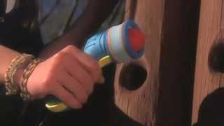 Duo Foam Blaster: Air-Powered Foam Shooter & 2 Types of Ammo