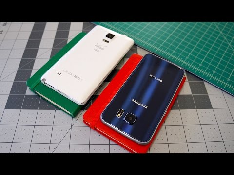 Samsung Galaxy S6 vs Galaxy Note 4