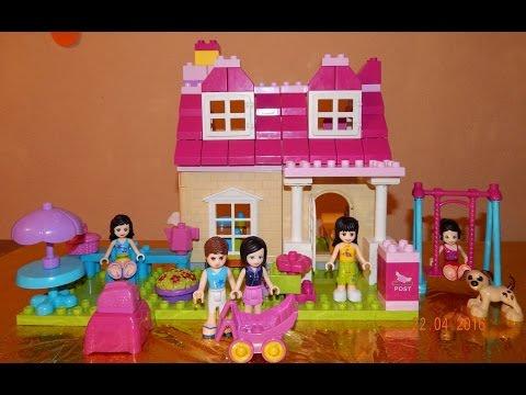Игры конструкторы кукольный домик