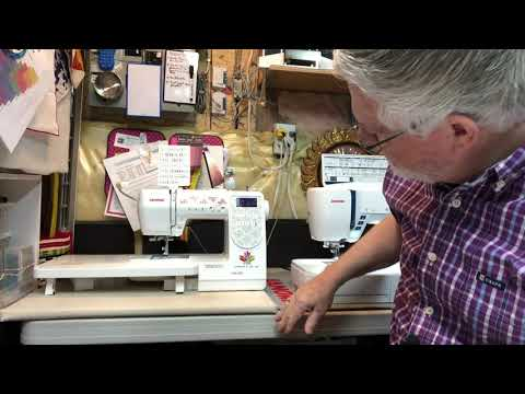 The Idiot Quilter Ep68- Janome M100 & Skyline S7 Review June 2, 2020