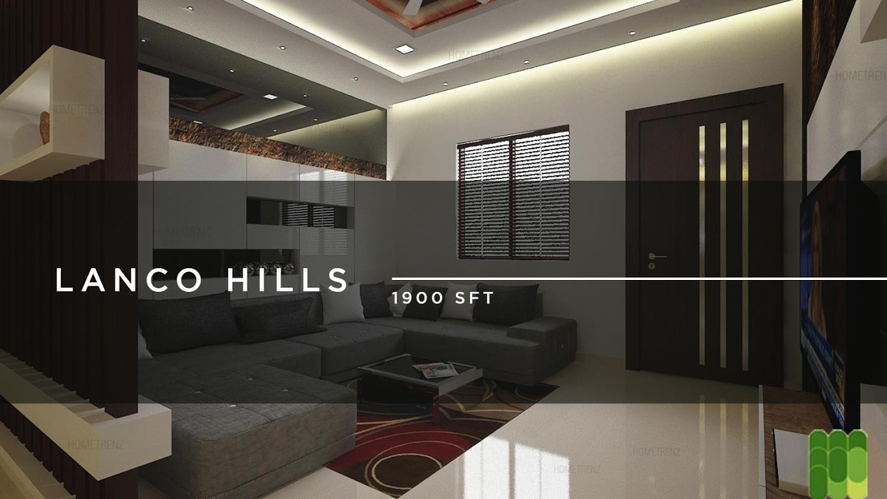 Lancohills Project Interior Designs By Hometrenz Interiors Hyderabad