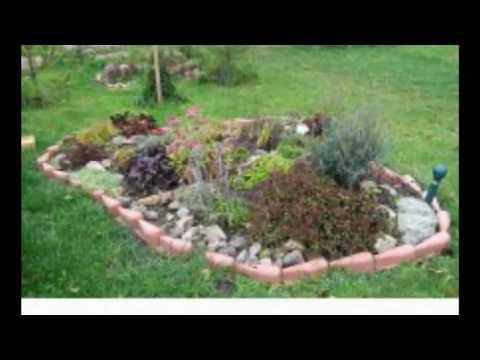 И на камнях растут цветы. Камни в ландшафтном дизайне садового участка. Красивые идеи и фото.mp4