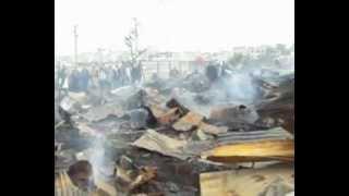 اندلاع حريق في سوق الصالحين بمدينة سلا 22/02/2013