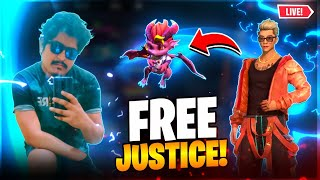 Free Justice 🤣 Unbelievable - Garena Free Fire Live