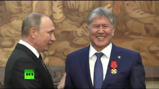 Путина жестко подкололи: Зять татарского народа. Атамбаев молодчик)