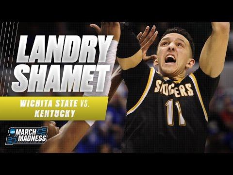 Landry Shamet scores 20 as Wichita State challenges Kentucky