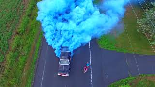 Awesome Burnout Gender Reveal 2018!