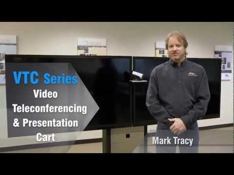 NEW VTC Series VideoConferencing & Presentation Cart