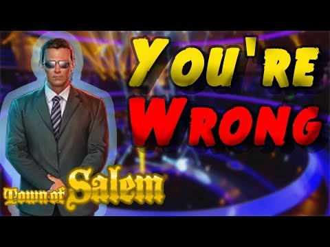 YOU'RE WRONG | Town of Salem Coven Mafia Returns