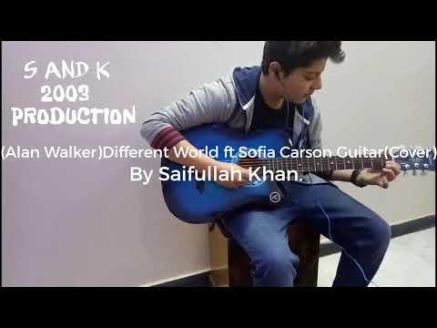(Alan Walker) Different World ft. Sofia Carson Guitar(Cover)