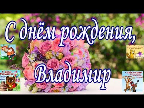 С днём рождения, Владимир