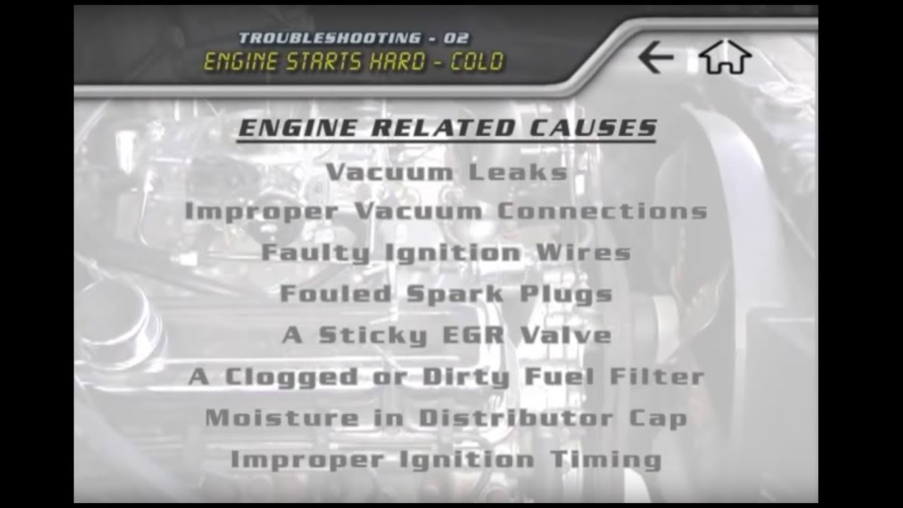 How To Fix A Hard Starting Engine Youtube 90 Toyota Truck 02 Wiring