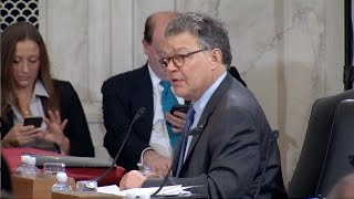Sen. Franken Grills Trump Atty. Gen. Nominee Sessions On Voting Rights