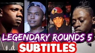 Legendary Rounds Vol 5 SUBTITLES - Conceited, Chess, JC, DOT | Masked Inasense