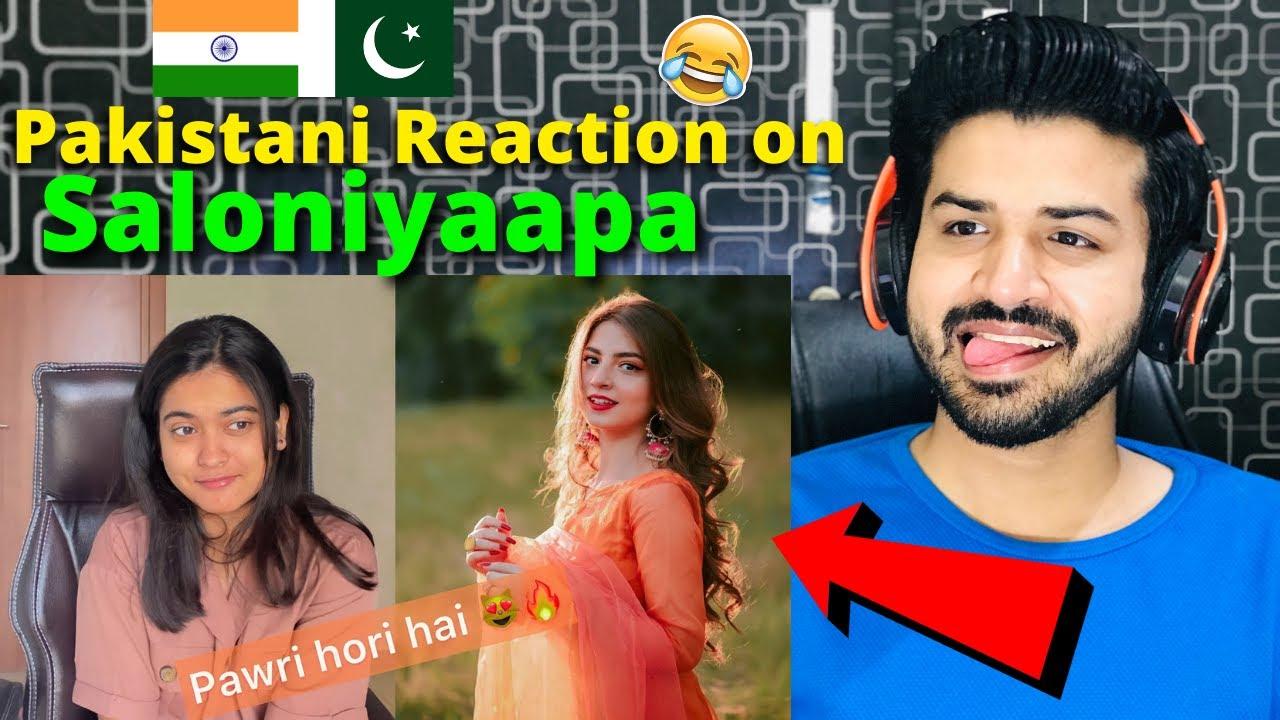 Pakistani reacts on Saloniyaapa Pawri Hori Hai Girl 😻 | Gaadi Meri 2 seater🤣🔥 | Zafar Reaction