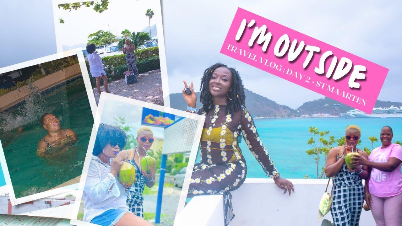 Download St. Maarten | Travel Vlog | Day 2 of 7 | NitaPOP #vlog