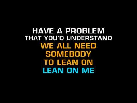 Kid Rock - Lean On Me (Karaoke) ft. Sheryl Crow, Keith Urban