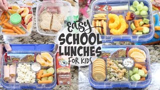 EASY BACK TO SCHOOL LUNCHES 2019 | LUNCHES FOR ALL AGES | AND GROCERY HAUL!!