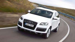 Тест-драйв.  Audi Q7 II.  Новинки авто 2015
