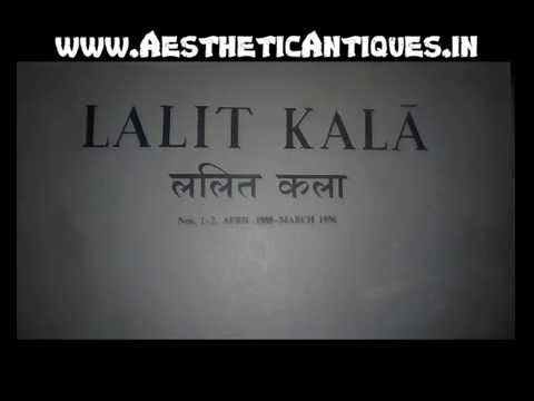Lalit Kala Akademi (Ancient) Journals VOL 1, 2 ( 1&2 )