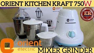 Orient Electric Kitchen Kraft MGKK75B3 750 W Mixer Grinder Mixer Grinder in 2021 Unboxing amp Review