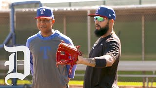 Rangers Infielder Rougned Odor Discusses The Challenges He'll Face During Spring Training