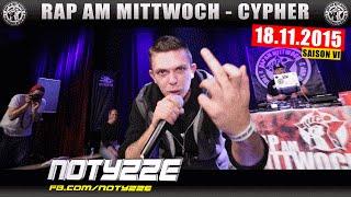 RAP AM MITTWOCH KÖLN: 18.11.15 Die Cypher feat. SHABAN, NOTYZZE, CPE uvm. (1/4)