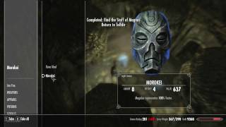 SKYRIM How To Get Morokei Mask In Labyrinthian Commentary + Tutorial