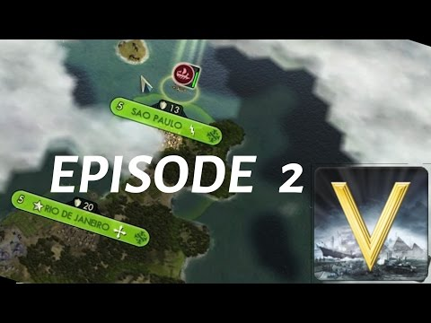 FINDING MORE CONTINENTS (Civilization V   Ep. 2) [HD]