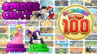 Spider Chat - Mario Party: The Top 100 FIRST IMPRESSIONS (Ft. SuperZambezi) (Episode 6)