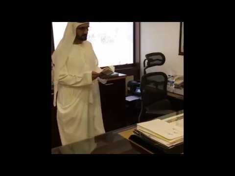 Shaikh Mohammed on surprise visit to government offices
