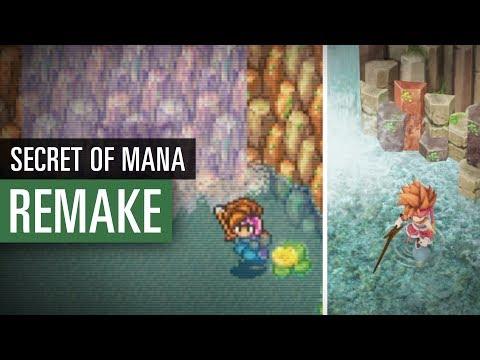 Secret of Mana - Original vs. Remake im Vergleich